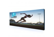 20' Pop Up Banner Fabric Display Stands