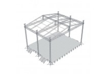Aluminium Concert Lighting Stage Truss Structure