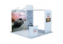 Aluminum Trade Show Display Design 20x20