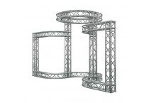 Circular Exhibition Backdrop Stand Truss Ideas