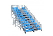 Fast and Temporary Steel Modular Grandstand Assembly
