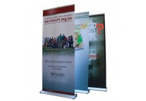 Single Sided Aluminium Roll Up Stand