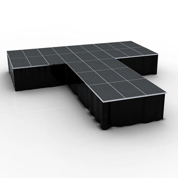 T Shape Portable Folding Stage Platform Aluminum China T